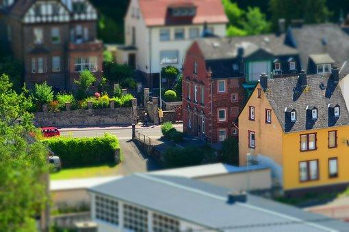 Miniature, Home, City, Architecture, Building, Toys