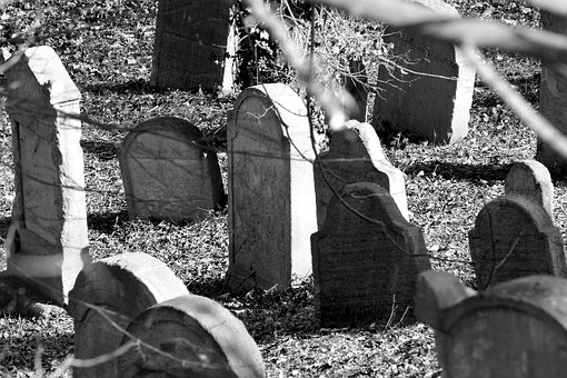 Jewish, Cemetery, Tombstone, Death, Historical, Remind
