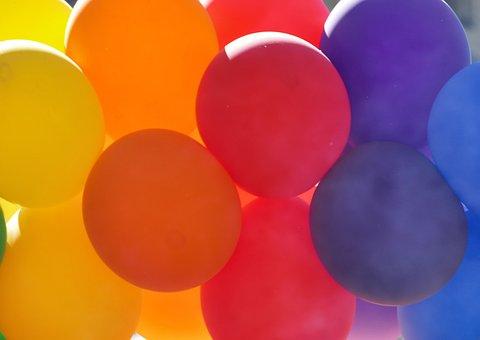 Balloons, Colorful, Fun, Celebration, Color