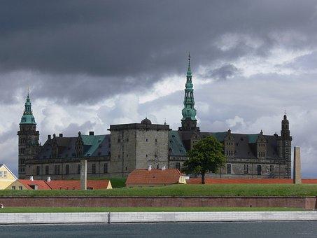 Denmark, Helsing,, U, Danish, Tourism, Travel, Castle