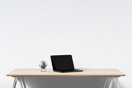 Laptop, Interior, Desk, Computer, Notebook, Technology