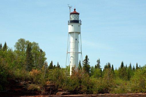 Devils Island Lighthouse, Wisconsin, Lighthouse