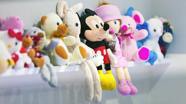 Toys, Dolls, Snowman, Girl