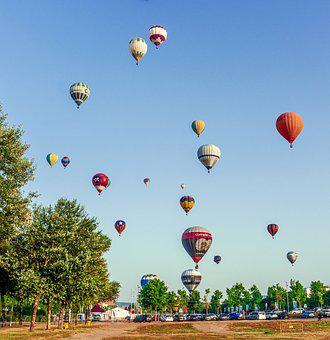 Balloons, Hot Air, Adventure, Emotions, Flyers