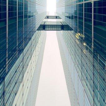 Architecture, Symmetry, Skyscraper, Building, Facade