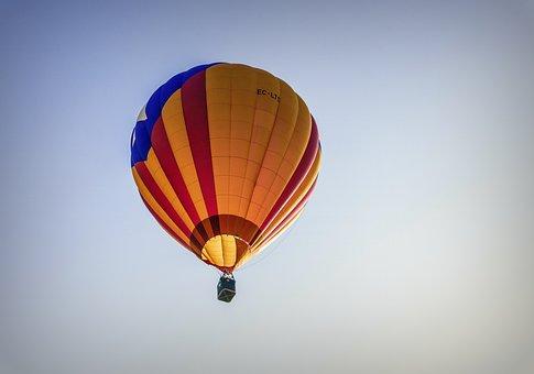 Balloons, Hot Air, Fly, Sky, Fantasy, Emotions