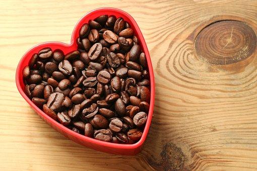 Coffee, Coffee Beans, Brown, Caffeine, Beans, Food