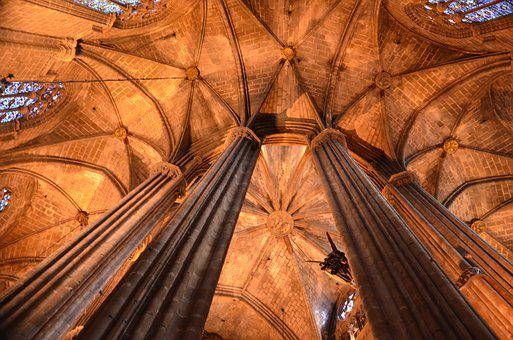 Vault, Cathedral, Architecture, Chapel, Gothic