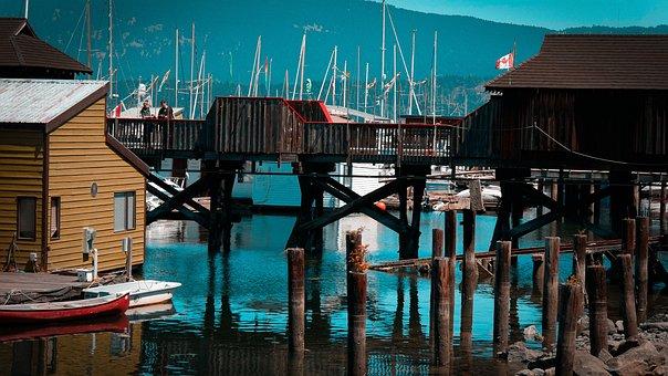 Vancouver, Port, Sea, Water, Canada, Harbor, Marina