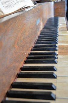 Piano, Keys, Music, Instrument, Melody, Key, Sound
