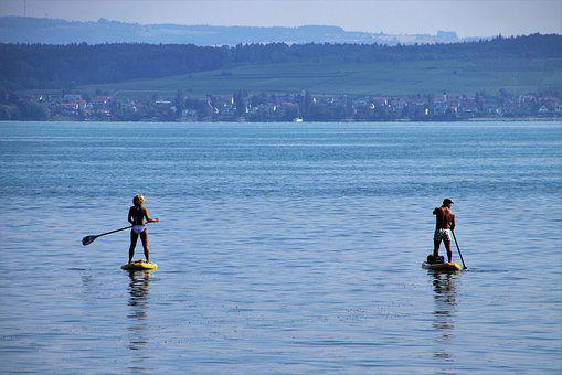 Lake, Active Holidays, Board, Bodensee, Sport, Adult