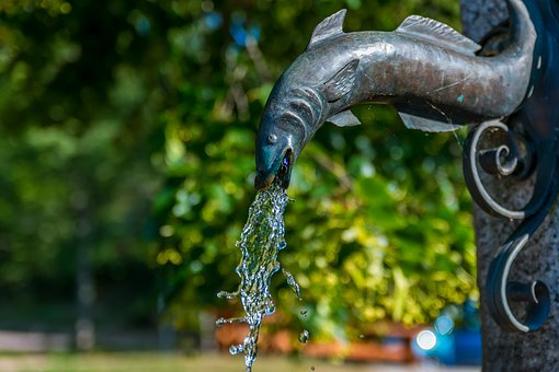 Brunne, Water, Live, Refreshment, Water Fountain