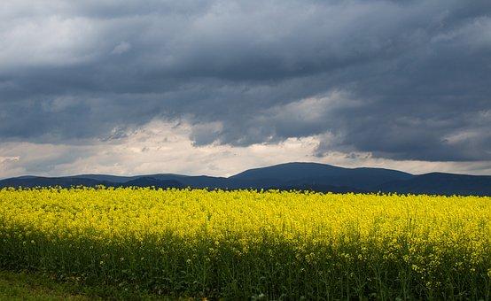Nature, Landscape, Clouds, Mountains, Heaven, Outdoor