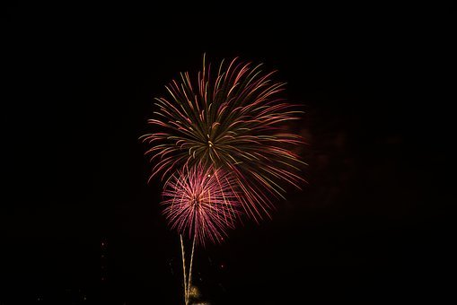 Fireworks, 4th Of July, Celebration, Pyrotechnics