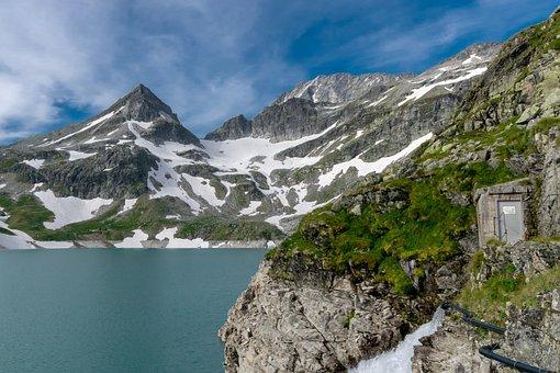 Alpine, Sky, Mountains, Snow, Summit, Salzburger Land