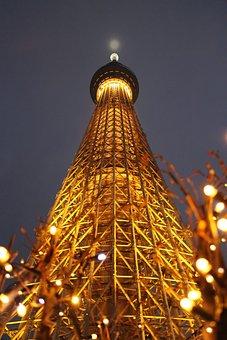 Japan, Tokyo, Sky Tower, Tokyo Sky Tree, City