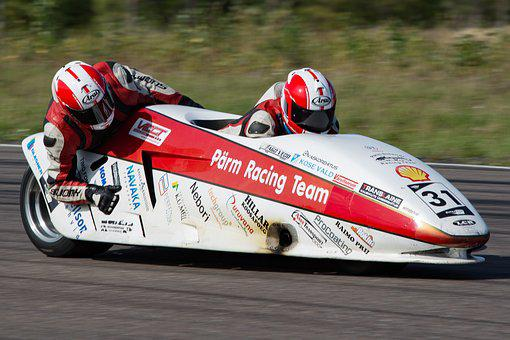 Sidecar, Side Cart, Racing, Competition, Rate, Sports
