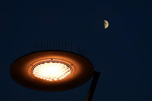 Replacement Lamp, The Moon In The Background, The Pier