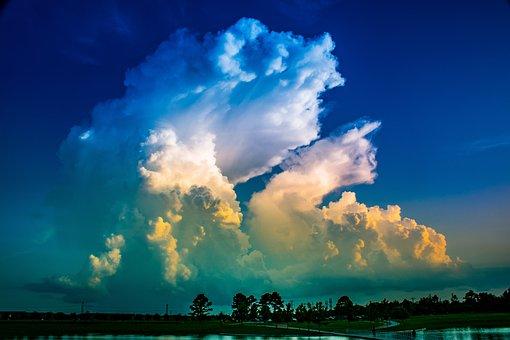 Cumulonimbus, Cumulus Cloud, Meteorology, Thunderstorm