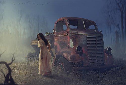 Auto, Truck, Transport, Automotive, Vehicle, Rustic