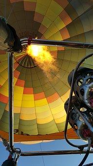 Hot Air Balloon Ride, Air, Height, Hot Air Balloon