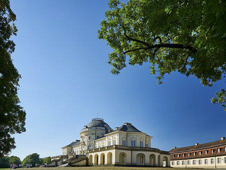 Solitude, Castle, Architecture, Baden Württemberg