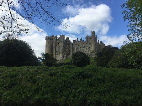Arundel, Arundel Castle, Castle, West Sussex, England