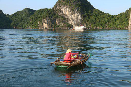 Seller, Water, Vessel, Heat, Paddling, Boat, Travel