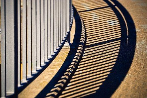 Bridge, Railing, Architecture, Away, Transition