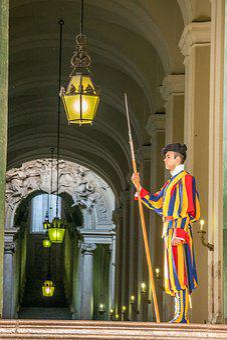 Vatican, Swiss Guard, Rome, Guard, Catholic