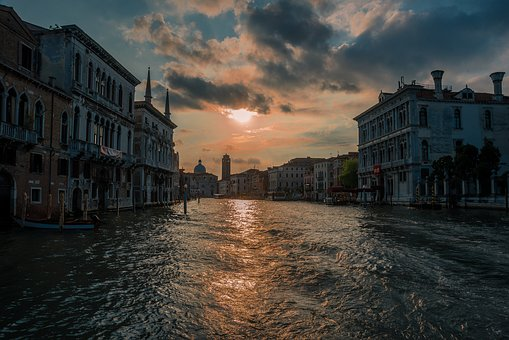 Channel, Facade, Water, Building, City, Tourism
