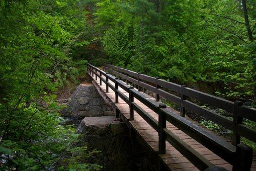 Doughboy Trail Foot Bridge, Bridge, Color, Foot Bridge