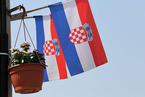Croatian Flag, Country, Official, Decoration