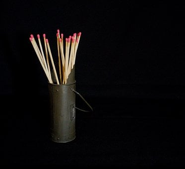 Matches, Fireplace Wood, Wood, Fire Starter