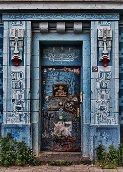 Door, Goal, Input, Portal, Gate, Building, Front Door