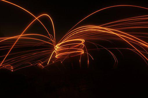 Light, Effect, Night, Abstract, Magic, Explosion