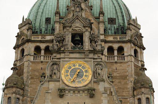 Hanover, Lower Saxony, New Town Hall, State Capital