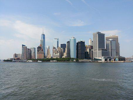 Manhattan, New York, New York City, Nyc, Skyline, City