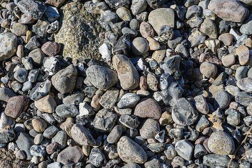 Stones, Stone Beach, Pebbles, Sea, Beach, Coast, Nature