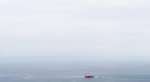 Ocean, Ship, Sea, Water, Boat, Blue, Sail, Sky, Sailing
