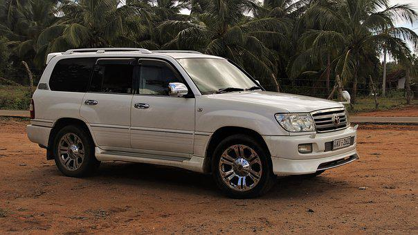 Auto, Suv, Toyota Land Cruiser, 4 X 4, Vehicle, Car