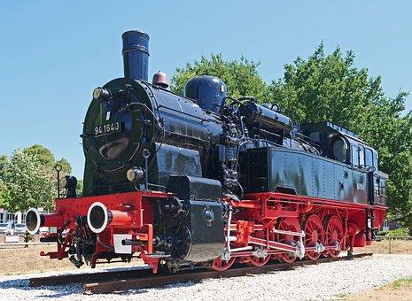 Steam Locomotive, Tank Locomotive, Prussian, T16, T 16