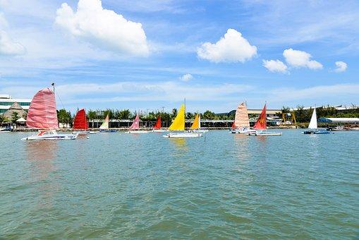 Marina Marina, Vung Tau, The Sea
