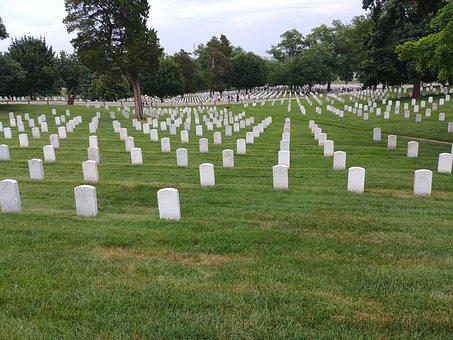 Arlington, Cemetery, Memorial, Washington, Grave