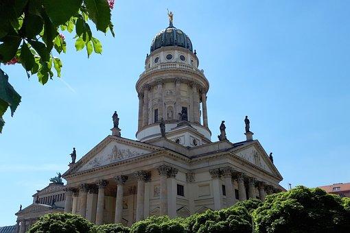 Berlin, Gendarmenmarkt, Germany, Architecture, Building