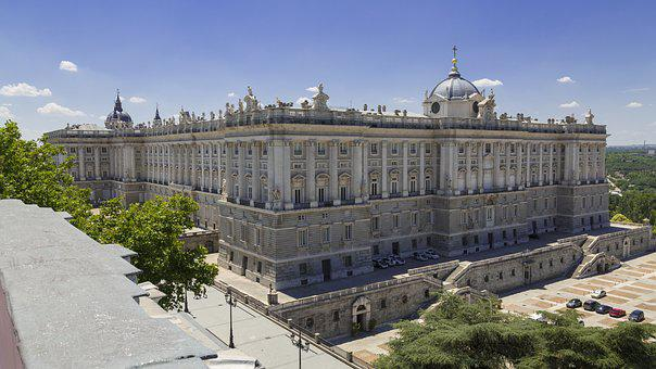 Madrid, Palace, Royal, Architecture, Spain, City