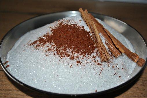 Cinnamon, Sugar, Spice, Delicious, Bake, Aroma, Brown