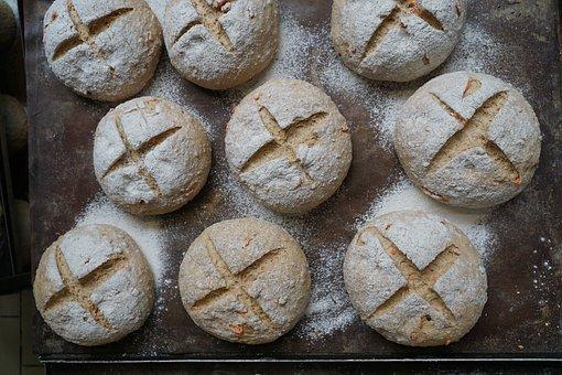 Bread, Baked Goods, Breakfast