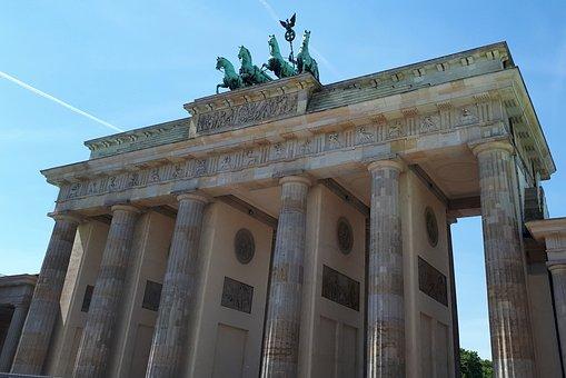 Berlin, Brand Front Of The Brandenburg Gate, Goal