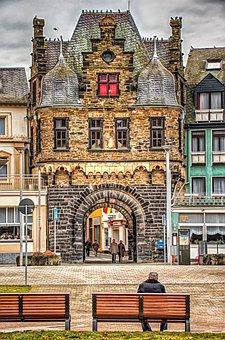 Architecture, Building, Rheintor, Grain Gate, Andernach
